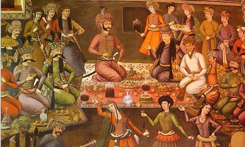 غذای دربار قزوین